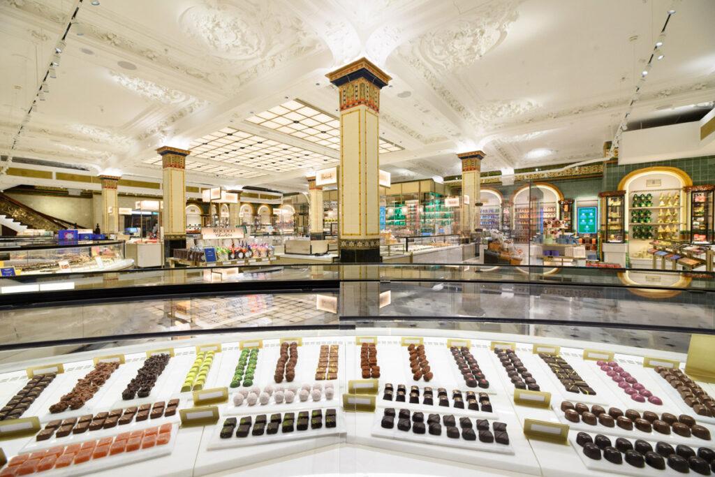 Harrods Chocolate Hall