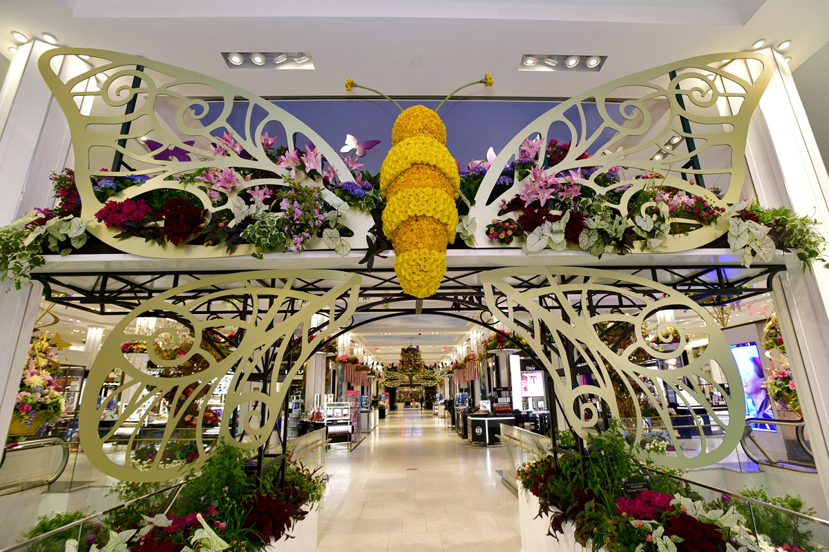 Macy's Flower Show Presents Give. Love. Bloom.
